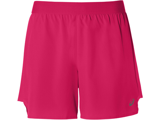 """asics 2-N-1 5"""" Shorts Dame laser pink/performance black"""